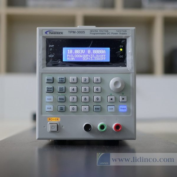 Máy cấp nguồn lập trình đa năng Twintex TPM-3005