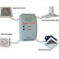 bộ tự động xử lý hút khsi gas ra ngoài