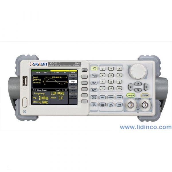 Máy phát xung, hàm Siglent SDG 1010 10Mhz 2 CH