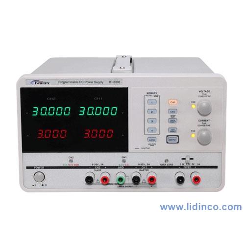 DC Power supply TP3303, 3CH, 30V/3A, 1mV/1mA