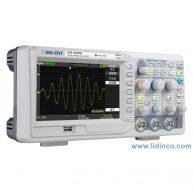 Máy hiện sóng, Oscilloscope Siglent SDS1302CFL, 300 MHz, 2 CH