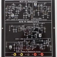 Bộ thực hành truyền thông digital FM Modulator & Demodulator