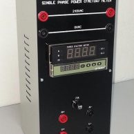 Single Phase Power Factor Meter