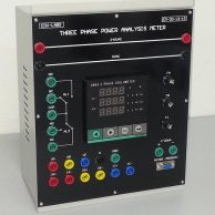 Three Phase Power Analysis Meter