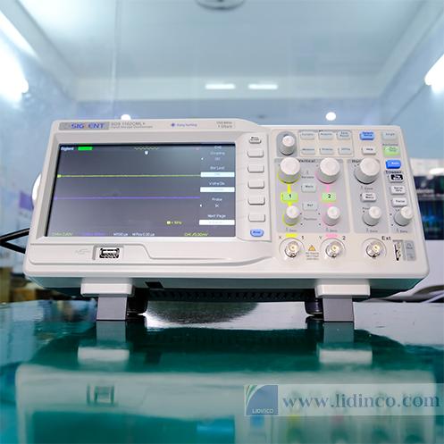 Máy hiện sóng SDS1102CML+ 100mhz 2 kênh