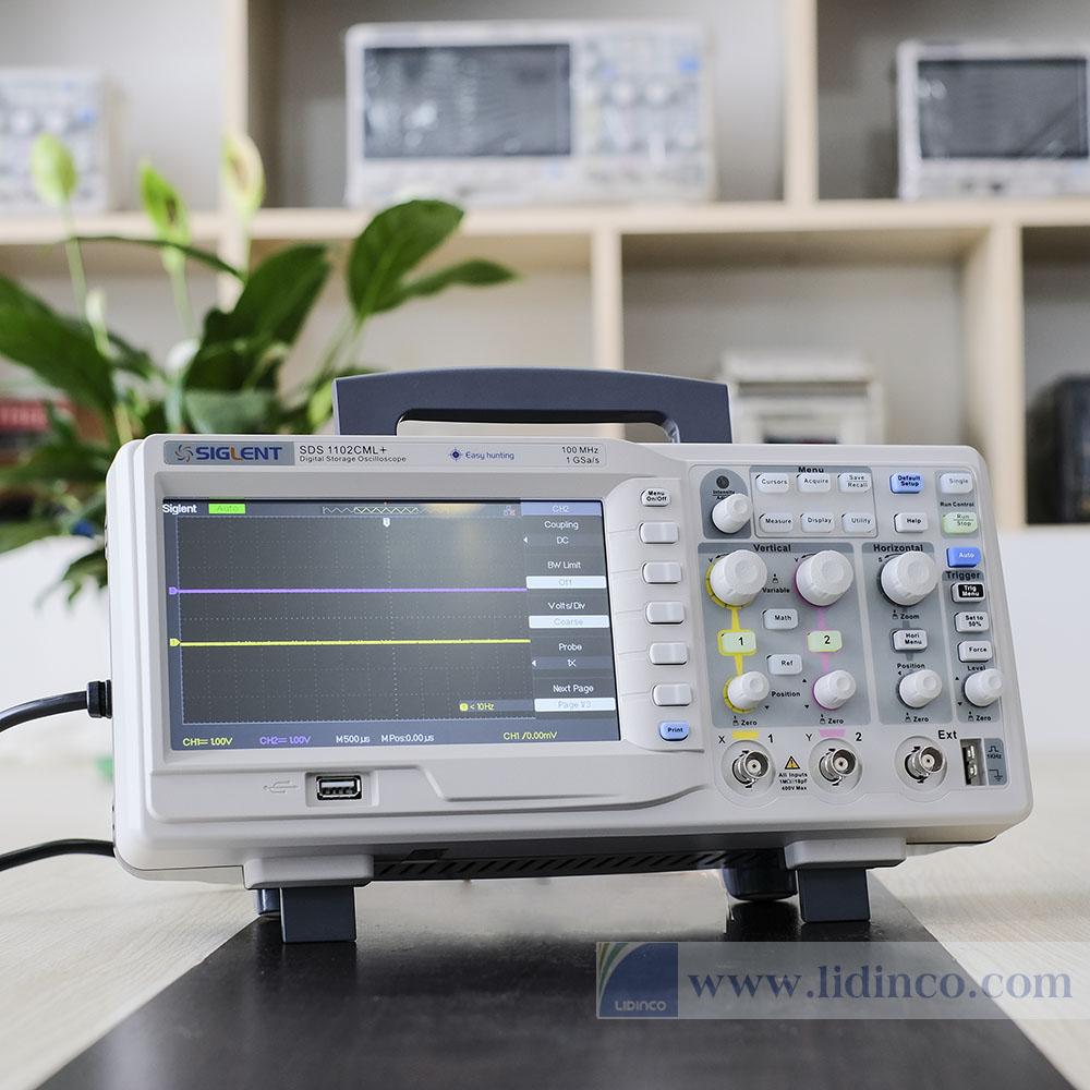 Máy hiện sóng Siglent SDS1102CML+ 100MHz
