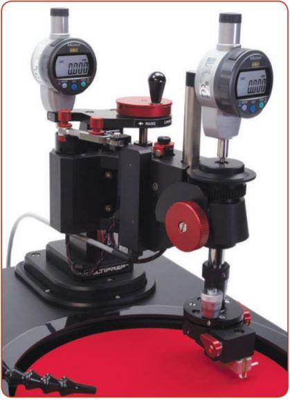 Đầu cố định mẫu của máy mài MultiPrep