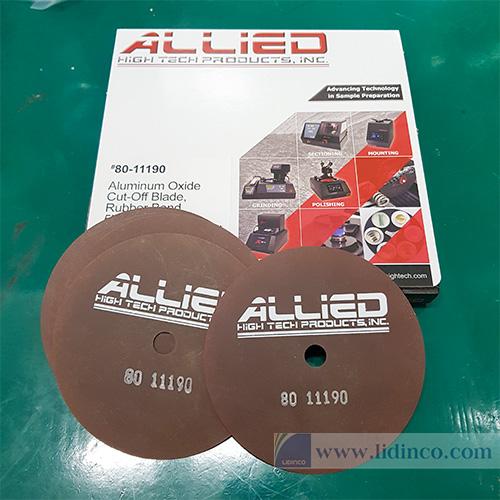 Lưỡi cắt mẫu mài mòn Abraisive cut off Allied High Tech