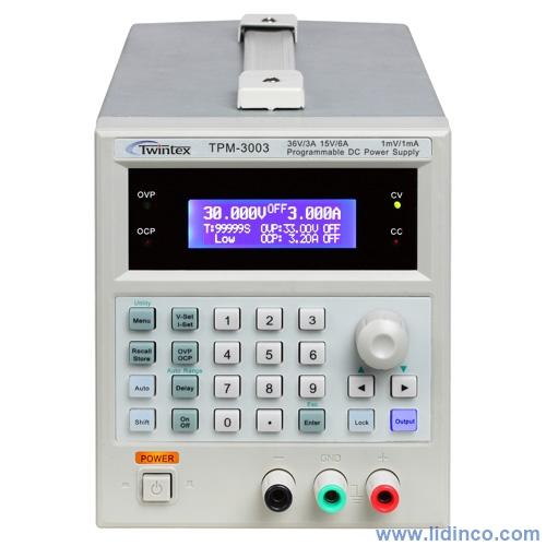 Nguồn một chiều (DC) Twintex TPM3003 – Taiwan, 36V/3A/6A