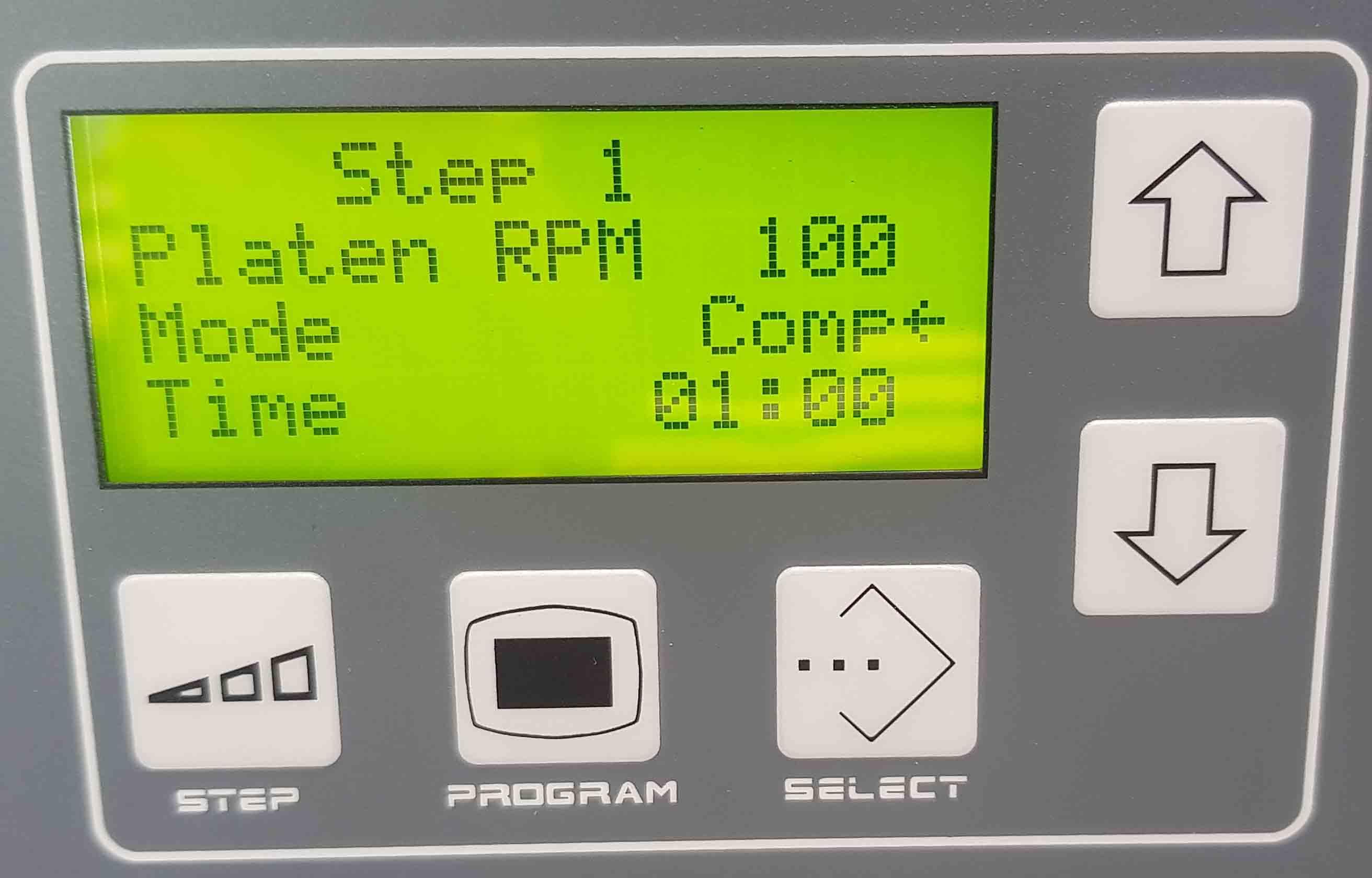 Bảng điều khiển MetPrep3 - 1