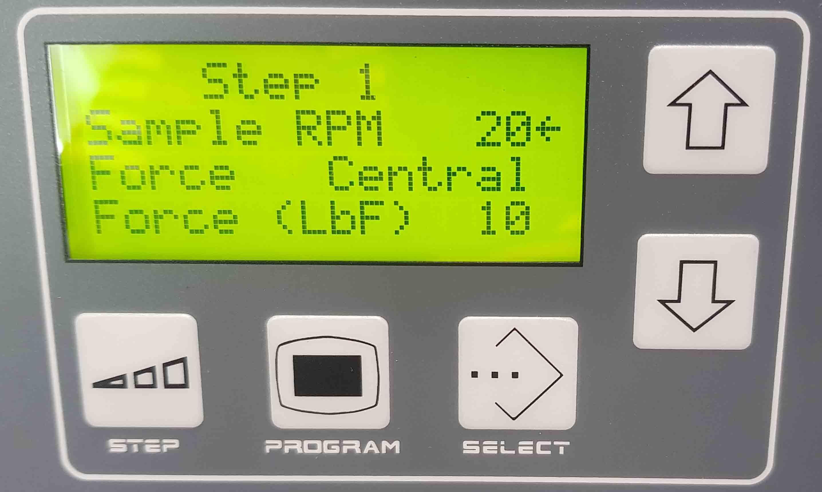 Bảng điều khiển MetPrep 3