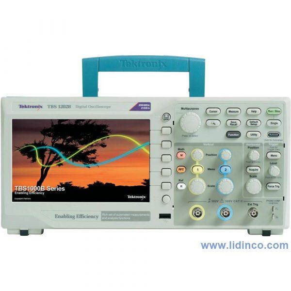 Máy hiện sóng, Oscilloscope Tektronix TBS1052B-EDU, 50MHz, 2 CH