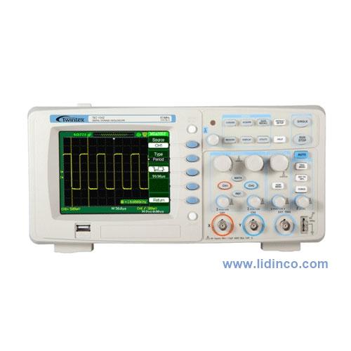 Máy hiện sóng, Oscilloscope Twintex TSO1202, 200MHz, 2 CH