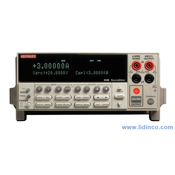 Keithley 2420-C High-Current SourceMeter
