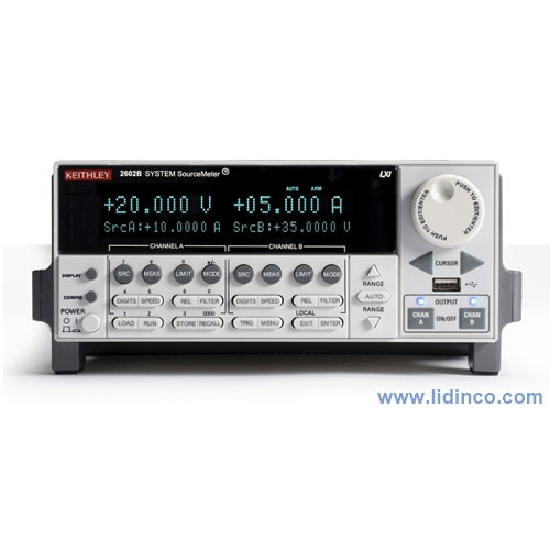 Keithley 2602B Dual-channel System SourceMeter