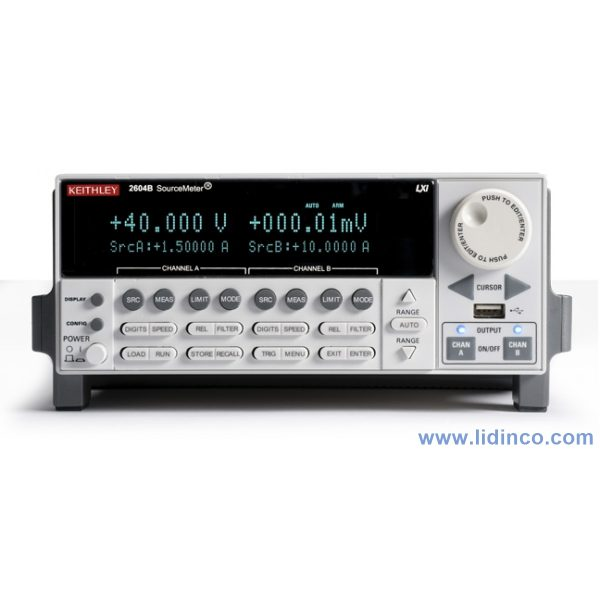 Hệ thống sourcemeter Keithley 2604B Dual-channel