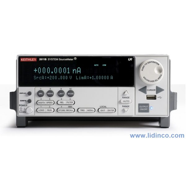 Hệ thống sourcemeter Keithley 2611B Single-channel