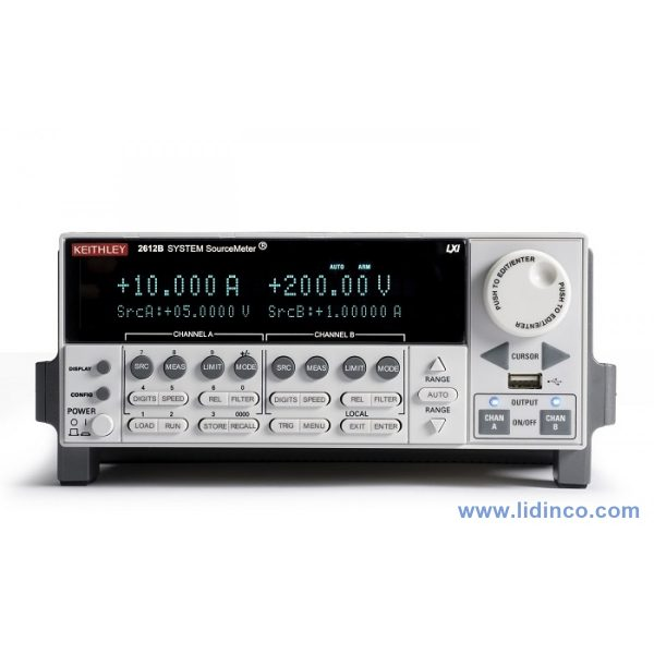 Hệ thống sourcemeter Keithley 2612B Dual-channel