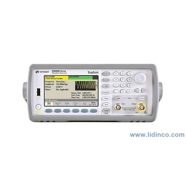 Máy phát xung, hàm Keysight 33519B, 01 Channel, 30 MHz
