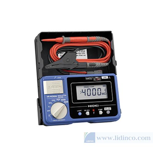 Đồng hồ đo điện trở nối đất Hioki IR4056