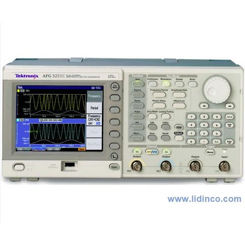 Máy phát xung, hàm Tektronix AFG3251C 1 Channel, 240MHz