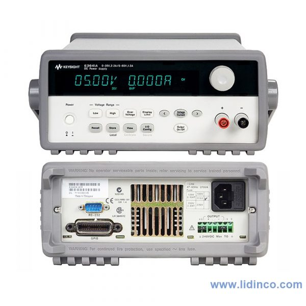 Nguồn một chiều (DC) Keysight E3641A 35V, 0.8A or 60V, 0.5A