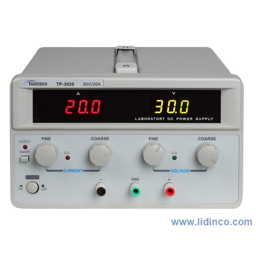 Nguồn một chiều (DC) Twintex TP3020, 30V/20A