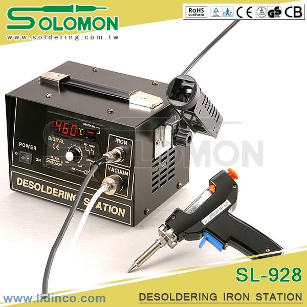 Máy hàn hút chì Solomon SL-928 48W 210 – 480°C