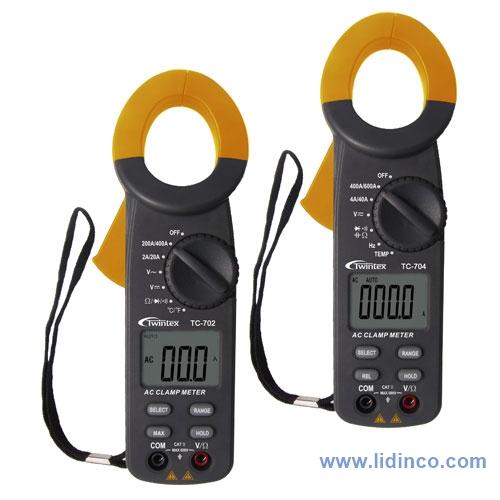 Đồng hồ kẹp,Ampe kìm Twintex TC702
