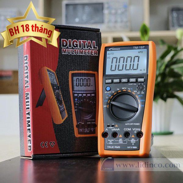 Đồng hồ vạn năng VOM Twintex TM197 bảo hành 18 tháng