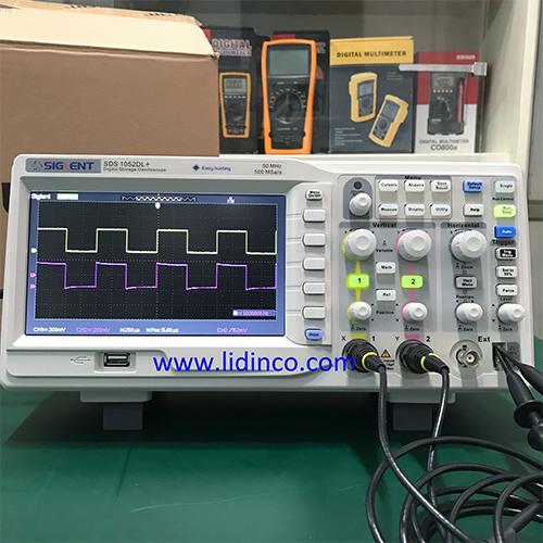Máy hiện sóng dao động ký SDS1052DL+