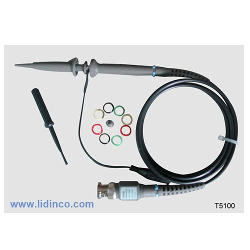 Que đo (Probe) Oscilloscope T5100, 100MHz, 10:1