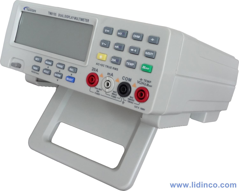 Đồng hồ vạn năng để bàn Twintex TM-8155