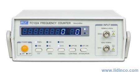 Máy đếm tần số - thiết bị đo điện giàu tính năng
