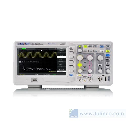 máy hiện sóng sds1052DL+