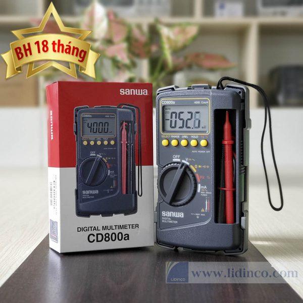 Đồng hồ đo điện vạn năng Sanwa CD800A BH 18 tháng -1