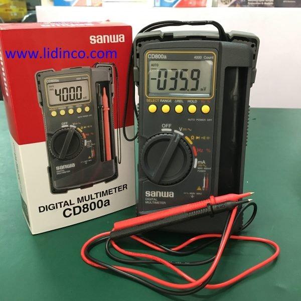 Đồng hồ đo đa năng CD800a