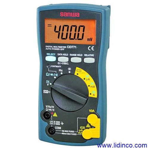 Đồng hồ vạn năng Sanwa-CD771