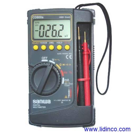 Đồng hồ vạn năng Sanwa CD800a