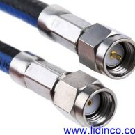 RF Cable, SMA Plug to SMA Plug, 1M, Huber & Suhner 300781710-A