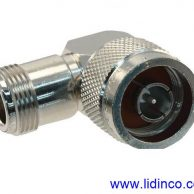 RF Connector/Adapter Right Angle Adapter, N, Plug, N, Jack- 82-213 (UG-27C/U)