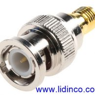 RF Connector/Adapter 50 Ohm, SMA to BNC