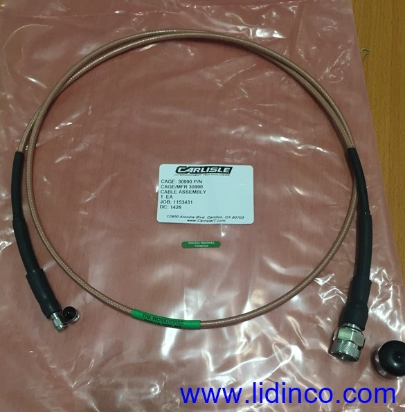 RF Cable N Male to SMA Male, 60″, 18GHz, WHU18