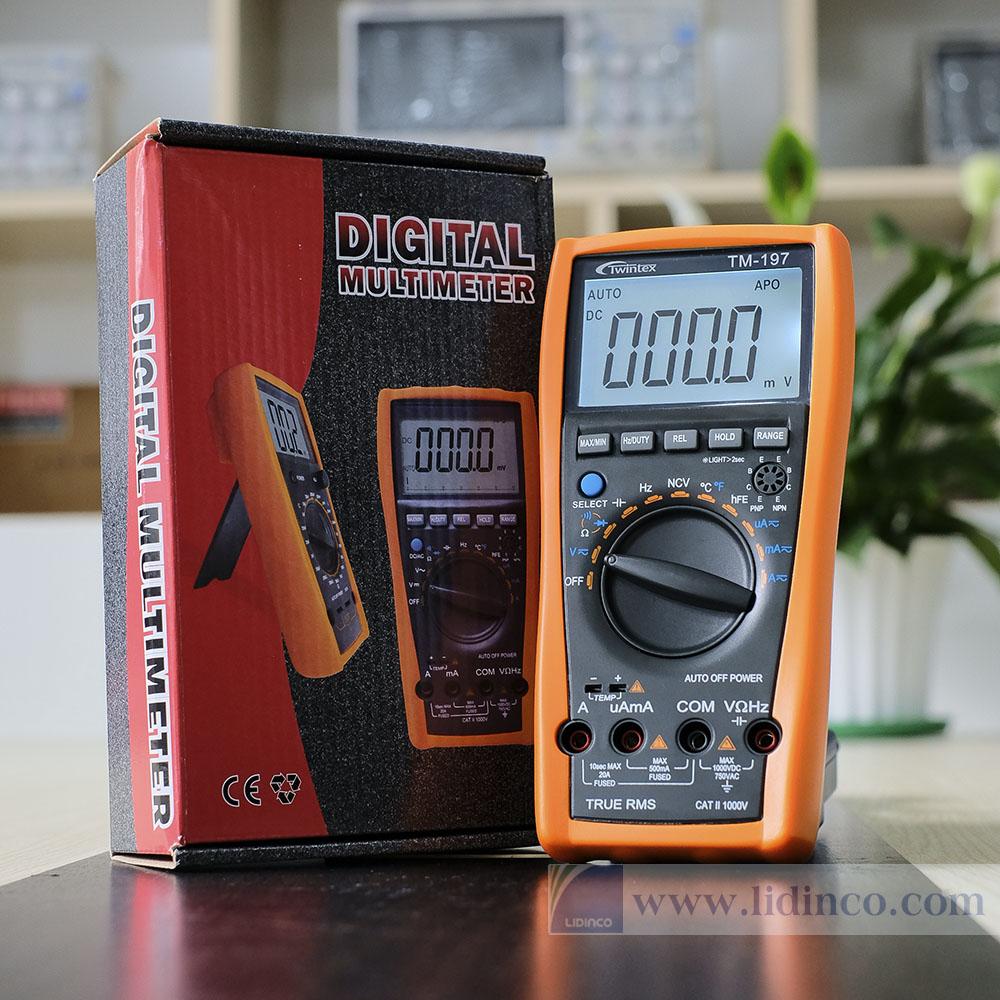 Cách đo dòng điện một chiều bằng VOM