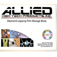 DIAMOND LAPPING FILM STORAGE Allied Hight Tech 50-30000