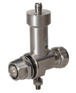 Bias-T / DC injectors with integrated lightning protector (Series 3410) Huber & Suhner 3