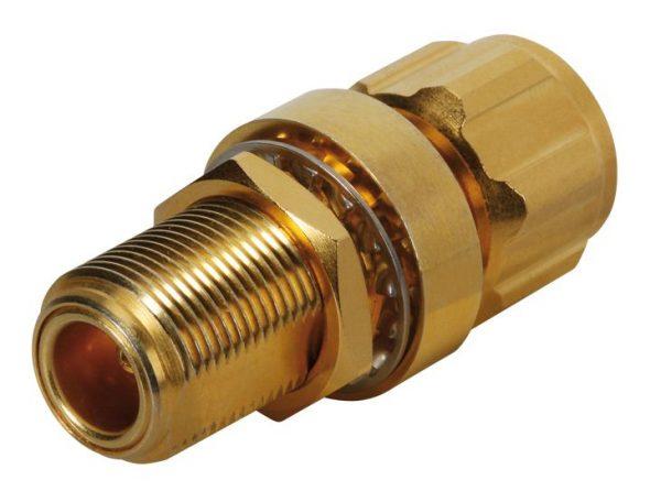 True broadband GDT protectors (Series 3406) Huber & Suhner 3