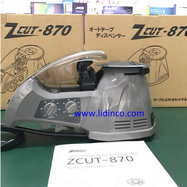 Máy cắt băng keo tự động Yaesu ZCUT-870 1