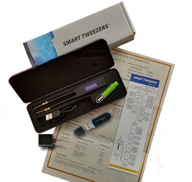 Nhíp thông minh ST5S-BT Colibri  đo RLC với Bluetooth and Receiver Stick 2