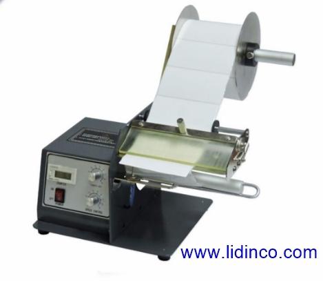 Máy tách nhãn tự động, Automatic label dispenser Hongjin LSH60, LSH120, LSH180 1
